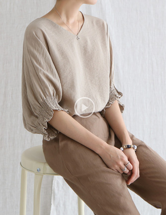 cool smock blouse