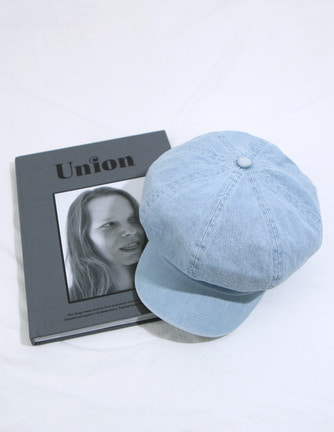 luxi denim cap
