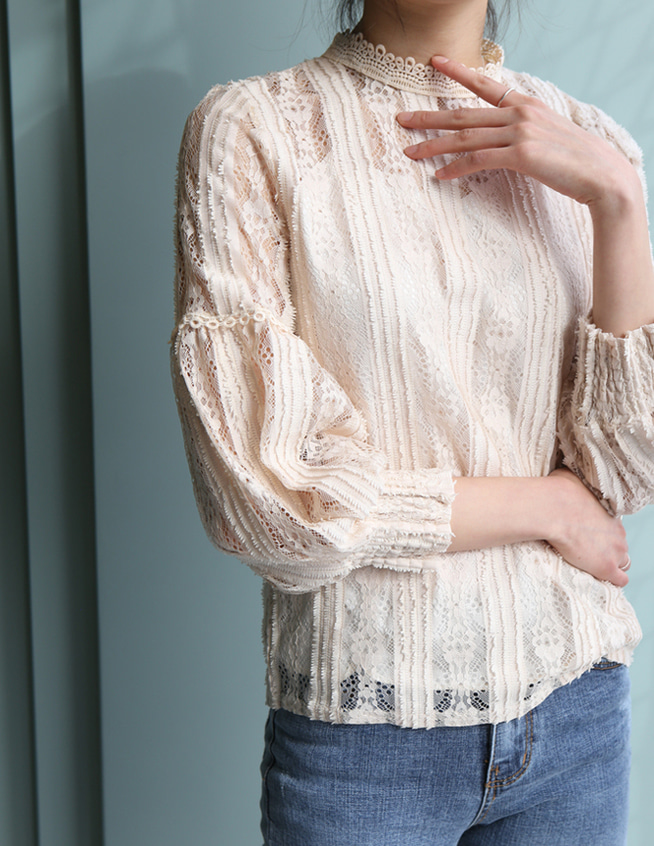 myel lace blouse