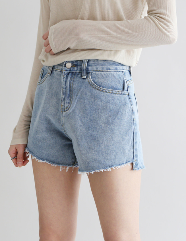 jama denim short pant