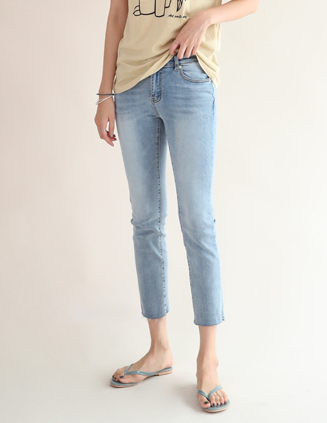lilin denim pants